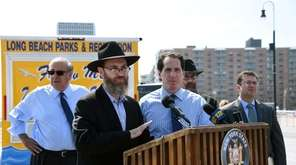 Rabbi Eli Goodman of Chabad of the Beaches,