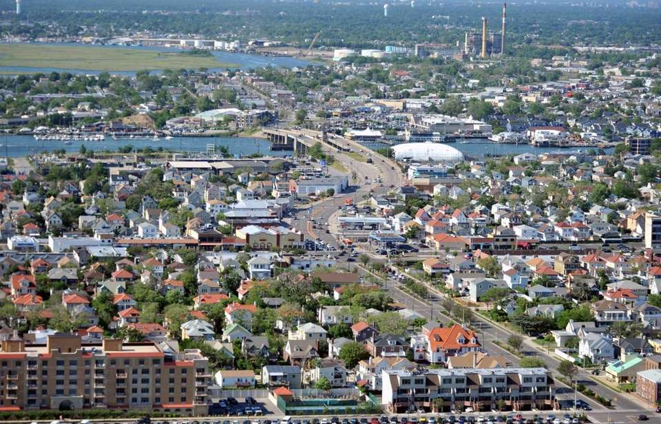 Pictured is an aerial view taken June 18,