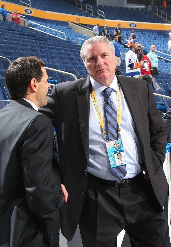 New York Islanders General Manager Garth Snow is