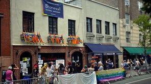 The Stonewall Inn in Manhattan is seen on