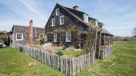 Exterior of Second House in Montauk, April 21,