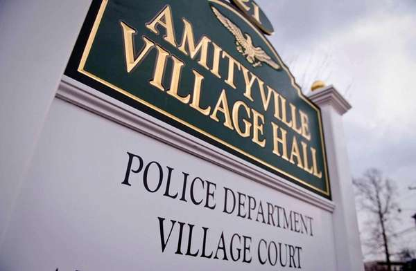 Amityville Village Hall's is shown in this undated