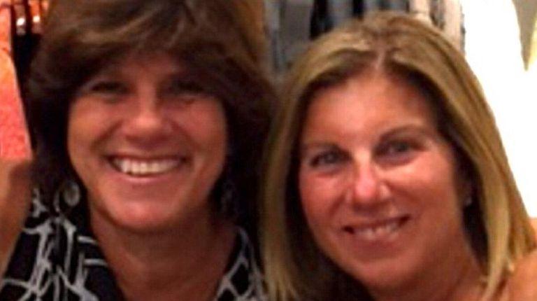 Susan Kleiman, left, and Dana DeRuvo Hanner have