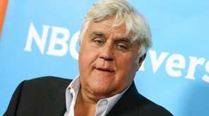 Jay Leno arrives at the NBCUniversal Summer TCA