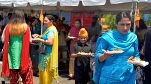 Thousands of Sikh community members attended the 12th