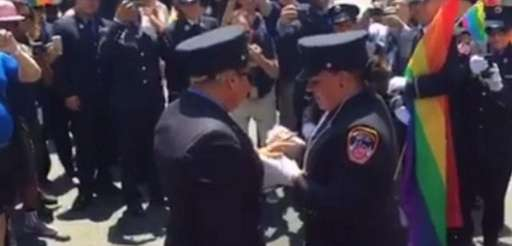 FDNY EMT Julianna Arroyo proposed to her girlfriend