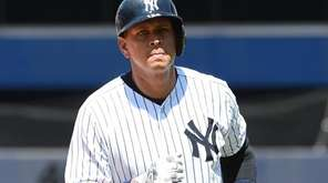 Yankees designated hitter Alex Rodriguez returns to the