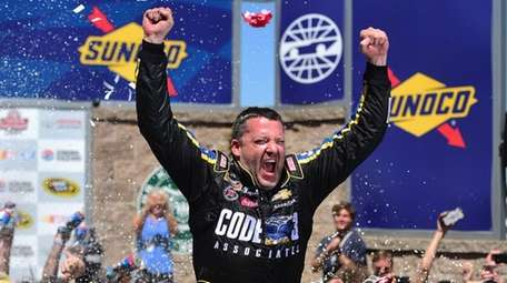 Tony Stewart, driver of the #14 Code 3