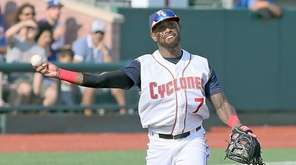 Cyclones' Jose Reyes, recently signed by the Mets,