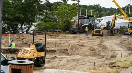Work on the second phase of the Village