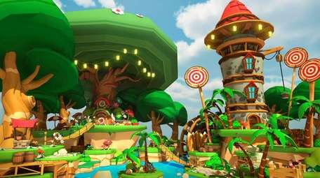 With Lucky's Tale, Oculus' website warns that the