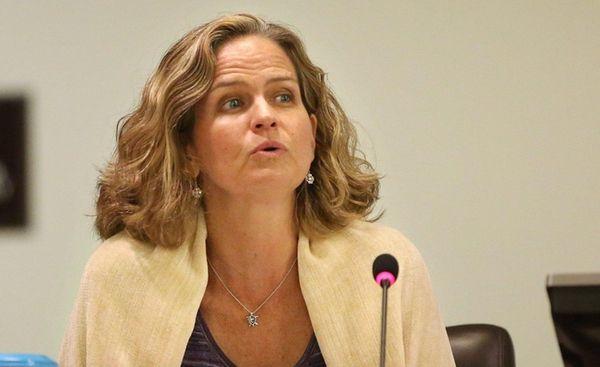 Nassau County Legis. Laura Curran is shown during