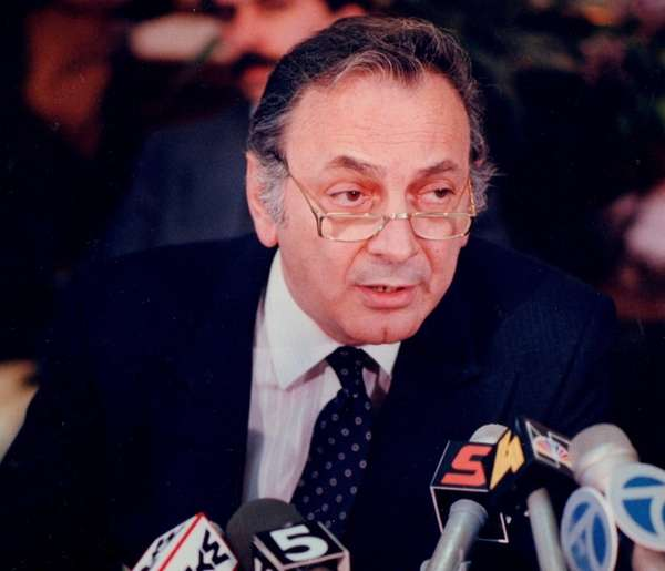 Former Queens District Attorney John Santucci at a