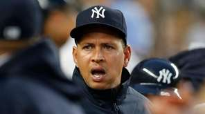 New York Yankees designated hitter Alex Rodriguez calls