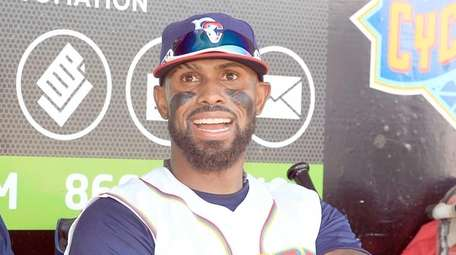 The Cyclones' Jose Reyes, who was recently signed