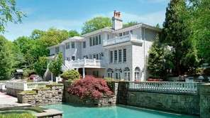 This home on four acres in Oyster Bay