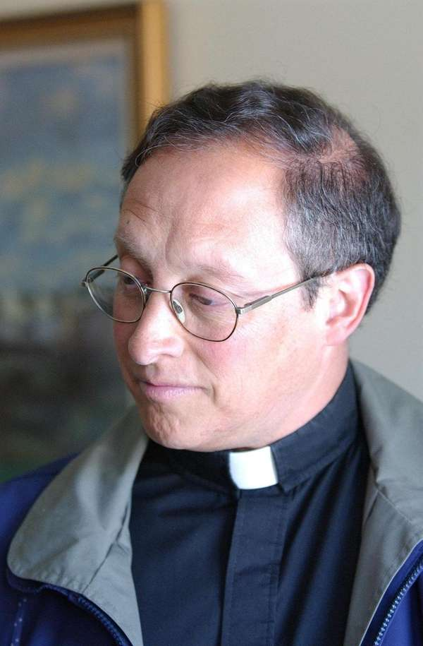 The Rev. Frank Parisi, who now works in