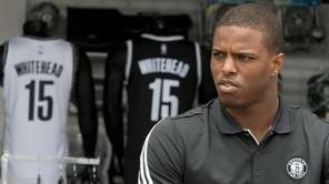 Brooklyn Nets draft pick Isaiah Whitehead speaks to
