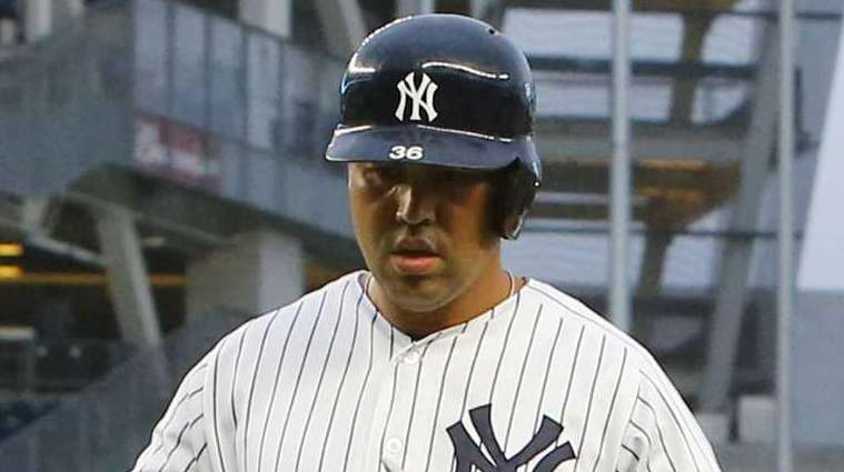 Carlos Beltran #36 of the New York Yankees