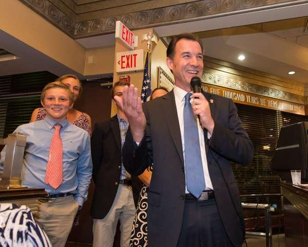Thomas Suozzi, a former Nassau County executive, makes