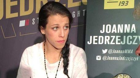 Poland's Joanna Jedrzejczyk talks about her UFC 193