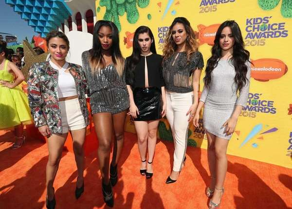 Fifth Harmony -- from left, Ally Brooke, Normani