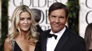 Dennis Quaid and his third wife, Kimberly Buffington