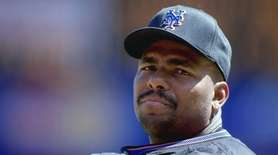 Bobby Bonilla of the Mets during a game