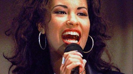 The late Selena Quintanilla, above in 1994, will