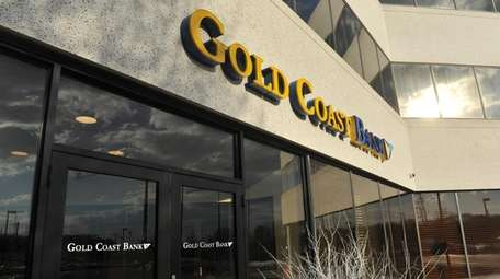 The corporate headquarters for Gold Coast Bank in