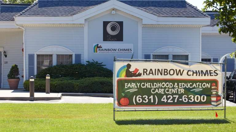 Rainbow Chimes Child Care, seen on Broadway Greenlawn