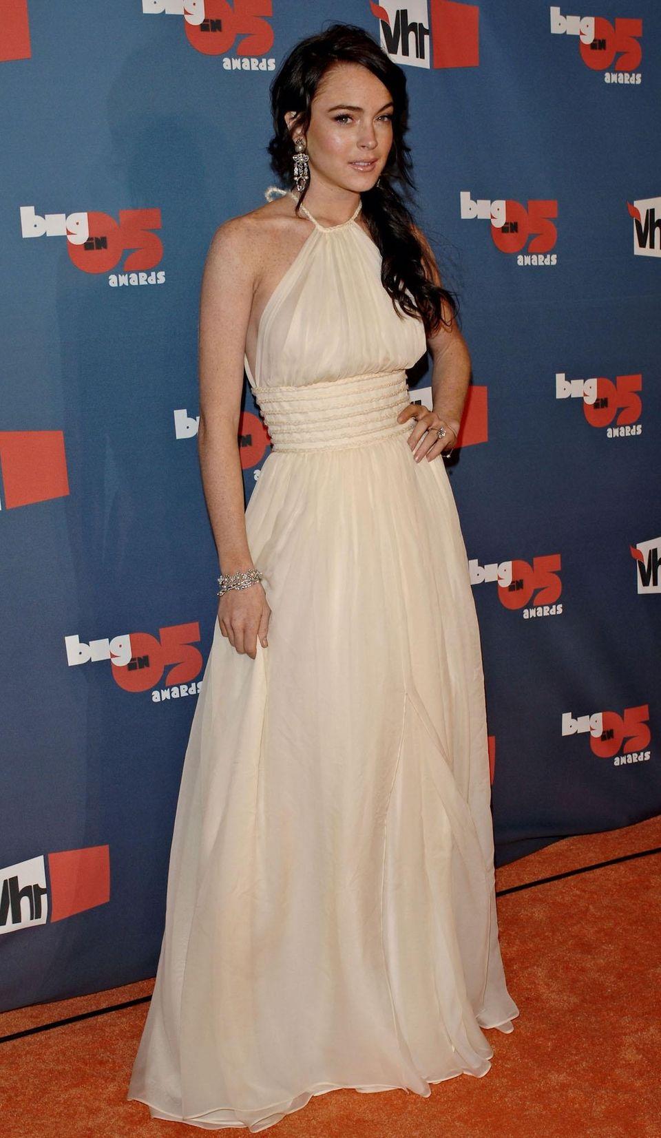 Lindsay Lohan arrives for the VH1 Big in