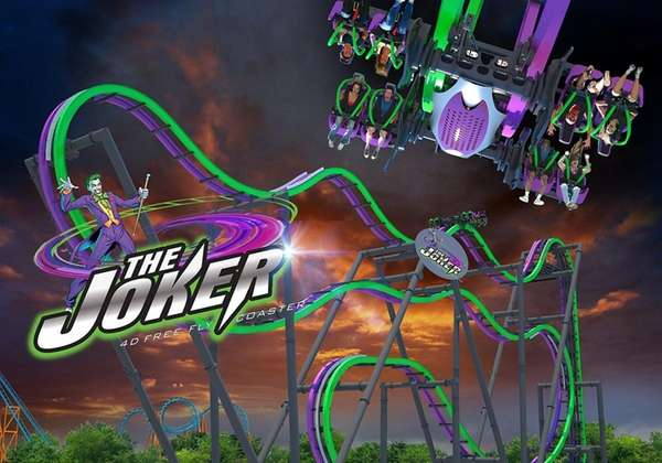 The Joker ride at Great Adventure.
