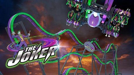 The Joker ride at Great Adventure.