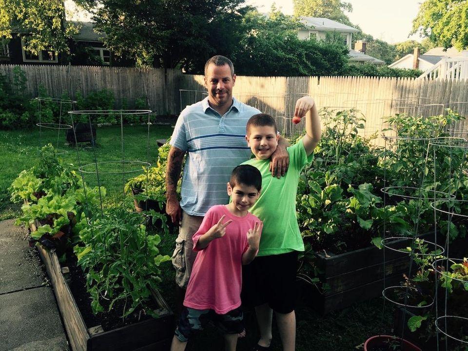 Adam Rasmussen has been gardening for more than