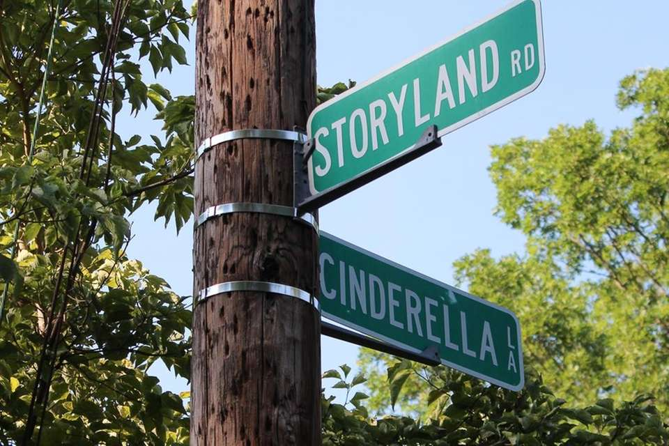 Walk along fabled roads such as Storyland Road