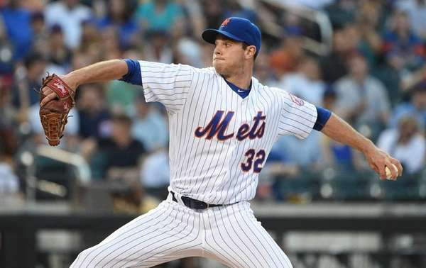 New York Mets starting pitcher Steven Matz delivers