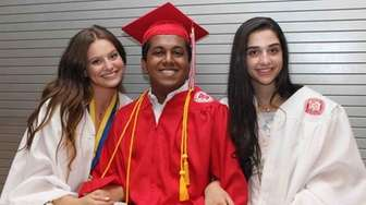 Syosset High School seniors waited in anticipation for