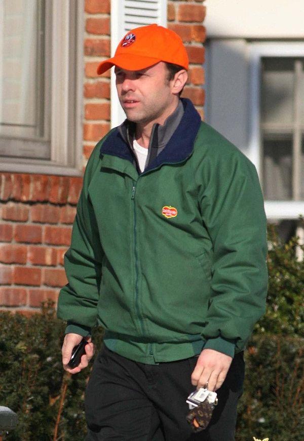 Thomas Hoey Jr. is seen in Garden City