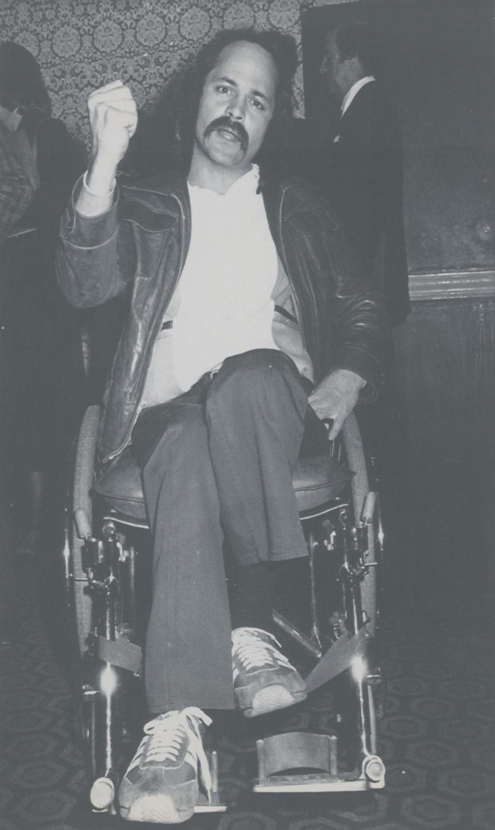 Vietnam veteran, anti-war activist and author Ron Kovic,