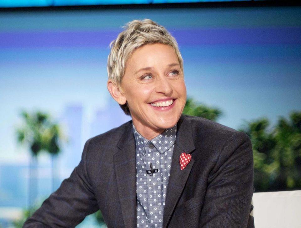 TV show host Ellen DeGeneres gave praise to
