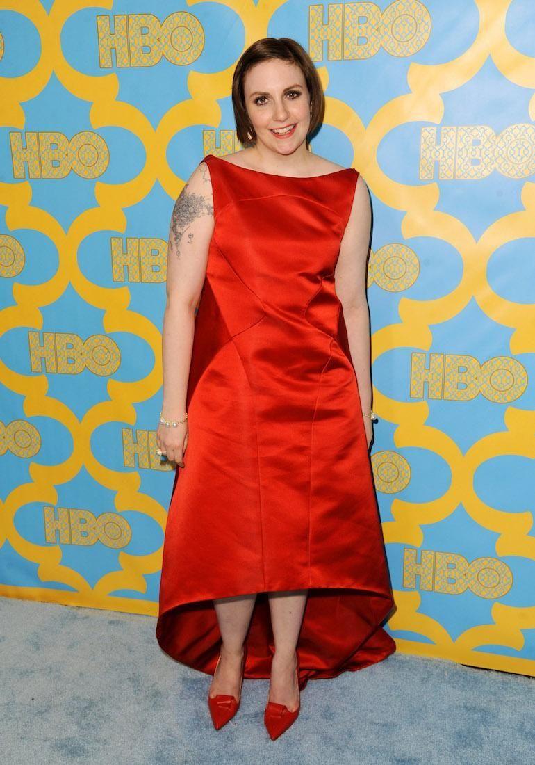 Lena Dunham has been an active supporter for