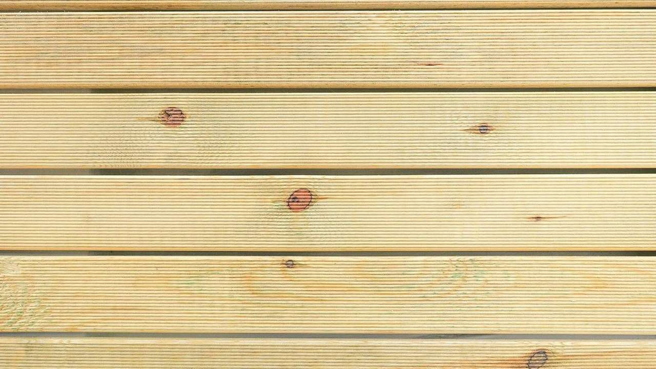 Whether you're staining or painting shiplap, it will