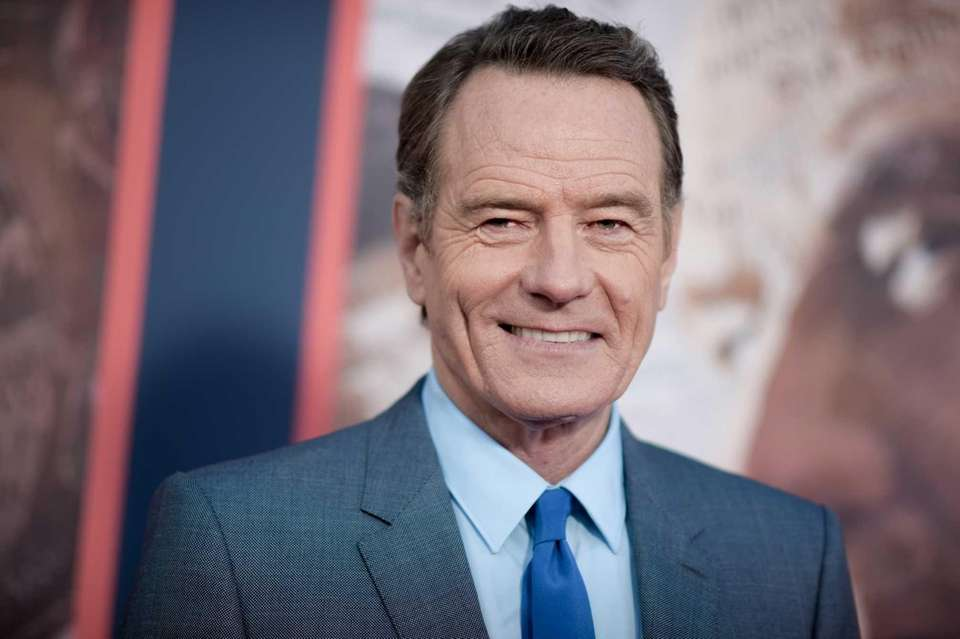 Actor Bryan Cranston voiced his support for Clinton