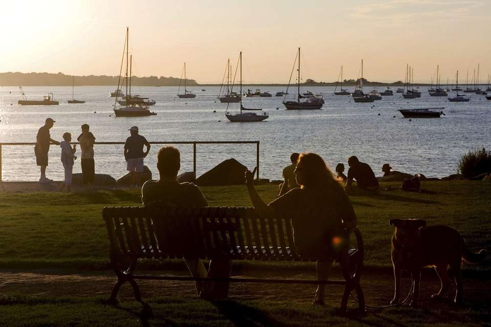 The quaint village of Port Jefferson boasts shops,