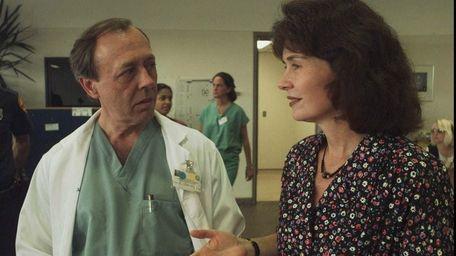 Suffolk County Medical Examiner Charles Wetli and Suffolk