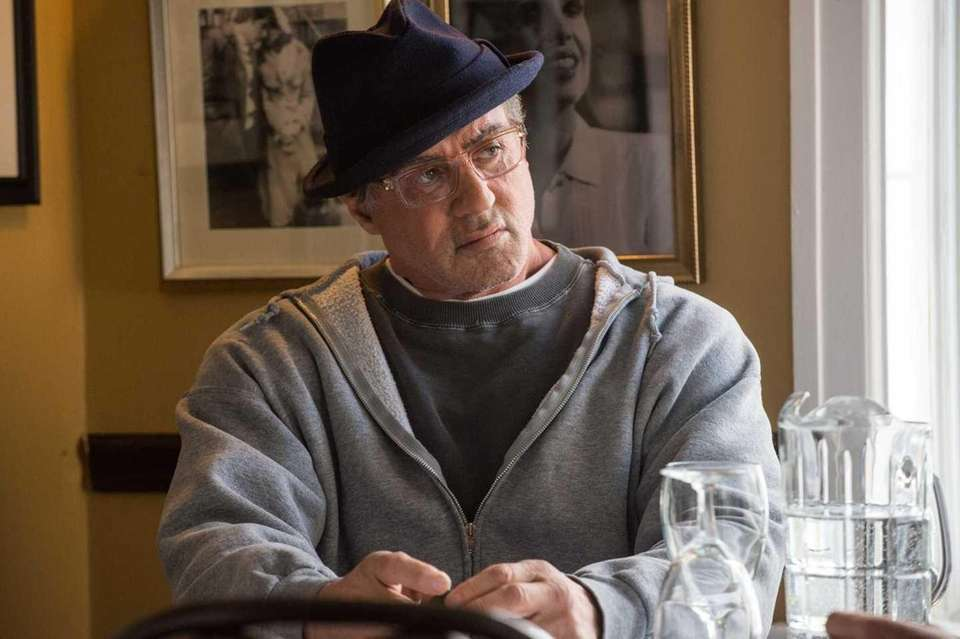 Sylvester Stallone plays Rocky Balboa in