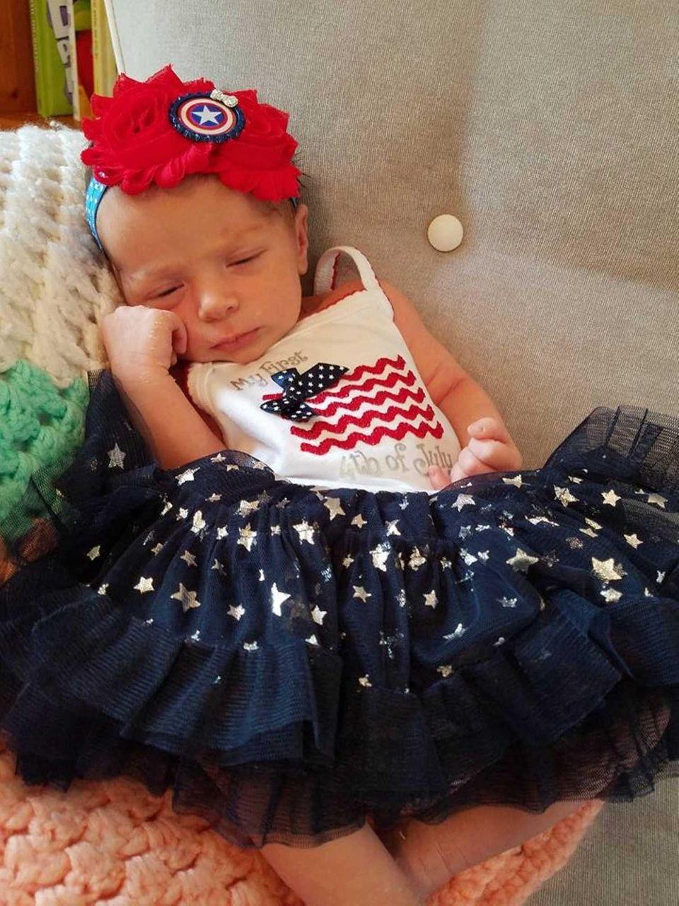 Centereach - Emily Lynn Kuveke, born 6/20/16, enthusiastically