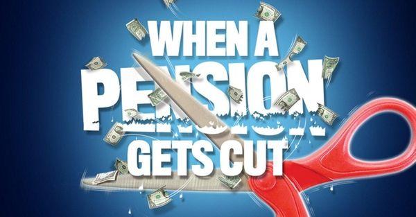 WHEN A PENSION GETS CUT Struggling 'multi-employer', union