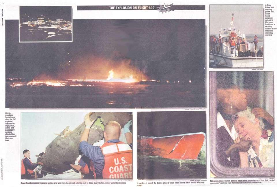 Newsday's special section on the explosion of Flight